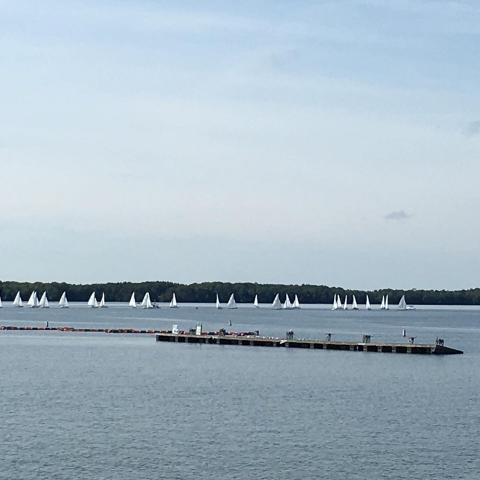 32 boats on the line!
